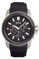 Hugo Boss Chronograph Miesten kello 1512926 Musta/Nahka Ø46 mm