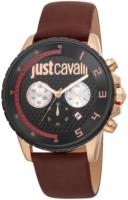 Just Cavalli 99999 Miesten kello JC1G063L0245 Musta/Nahka Ø44 mm
