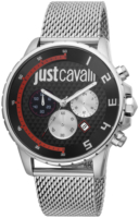 Just Cavalli 99999 Miesten kello JC1G063M0265 Musta/Teräs Ø44 mm