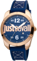 Just Cavalli 99999 Miesten kello JC1G106P0015 Sininen/Tekstiili Ø43