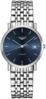 Longines Elegant Naisten kello l4.809.4.92.6 Sininen/Teräs Ø34.5 mm