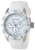 Nautica NSR N13639G Valkoinen/Muovi Ø44 mm