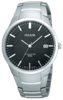 Pulsar Dress Miesten kello PS9013X1 Musta/Titaani Ø36 mm
