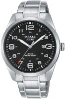 Pulsar Solar Miesten kello PX3187X1 Musta/Teräs Ø40 mm
