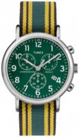 Timex Weekender Miesten kello ABT004 Vihreä/Tekstiili Ø40 mm