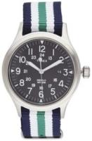 Timex Weekender Miesten kello ABT010 Musta/Tekstiili Ø38 mm