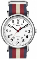 Timex Weekender Miesten kello ABT516 Valkoinen/Tekstiili Ø40 mm