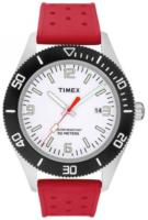 Timex 99999 Miesten kello T2N538 Valkoinen/Kumi Ø42 mm