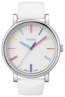 Timex Easy Reader T2N791 Valkoinen/Nahka Ø38 mm