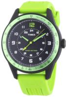 Timex Sports Miesten kello T2P025 Musta/Kumi Ø42 mm