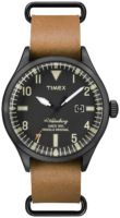 Timex 99999 Miesten kello TW2P64700D7 Musta/Nahka Ø42 mm