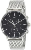 Timex 99999 TW2R61900 Musta/Teräs Ø41 mm