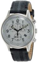 Timex 99999 Miesten kello TW2R68800 Harmaa/Nahka Ø42 mm