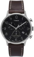 Timex 99999 Miesten kello TW2T28200 Musta/Nahka Ø40 mm
