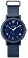Timex Weekender Naisten kello TWG018400UE Sininen/Tekstiili Ø34 mm