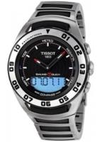 Tissot Sailing-Touch Miesten kello T056.420.21.051.00 Musta/Teräs
