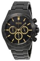 Hugo Boss Chronograph Naisten kello 1513278 Musta/Teräs Ø44 mm