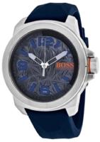 Hugo Boss New York Miesten kello 1513355 Harmaa/Kumi Ø50 mm
