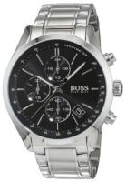 Hugo Boss Chronograph Miesten kello 1513477 Musta/Teräs Ø46 mm