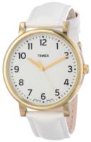 Timex Naisten kello T2P170AB Valkoinen/Nahka Ø44 mm