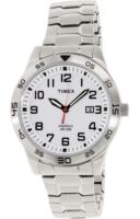 Timex 99999 Miesten kello TW2P61400 Valkoinen/Teräs Ø42 mm