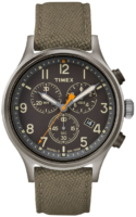 Timex 99999 Miesten kello TW2R47200 Harmaa/Nahka Ø42 mm