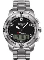 Tissot T-Touch II Miesten kello T047.420.11.051.00 Musta/Teräs