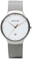 Bering Classic 13338-001 Valkoinen/Teräs Ø38 mm