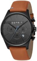 Esprit 99999 Miesten kello ES1G053L0035 Musta/Nahka Ø42 mm