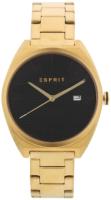 Esprit 99999 Miesten kello ES1G056M0075 Musta/Kullansävytetty teräs
