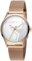 Esprit 99999 Naisten kello ES1L034M0285 Valkoinen/Punakultasävyinen
