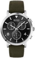 Hugo Boss 99999 Miesten kello 1513692 Musta/Nahka Ø42 mm