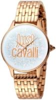 Just Cavalli Logo Naisten kello JC1L043M0045 Hopea/Punakultasävyinen