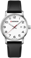 Wenger 99999 Miesten kello 01.1641.103 Valkoinen/Kumi Ø42 mm