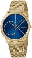 Calvin Klein 99999 Miesten kello K3M5155N Sininen/Kullansävytetty