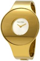 Calvin Klein 99999 Naisten kello K8C2S516 Valkoinen/Kullansävytetty