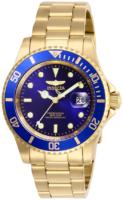Invicta Pro Diver Miesten kello 26974 Sininen/Kullansävytetty teräs
