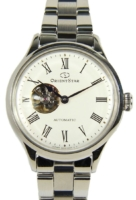 Orient Star Naisten kello RE-ND0002S00B Valkoinen/Teräs Ø30 mm