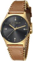 Esprit 99999 Naisten kello ES1L032L0035 Musta/Kullansävytetty teräs