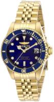 Invicta Pro Diver Naisten kello 29191 Sininen/Kullansävytetty teräs