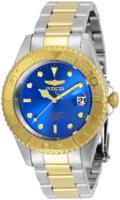Invicta Pro Diver Miesten kello 29942 Sininen/Kullansävytetty teräs