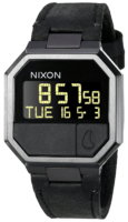Nixon The Re-Run Miesten kello A944001-00 LCD/Nahka