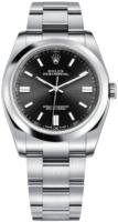 Rolex Oyster Perpetual 36 Naisten kello 116000-0013 Musta/Teräs Ø36