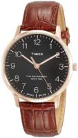 Timex 99999 Miesten kello TW2R71400 Musta/Nahka Ø40 mm