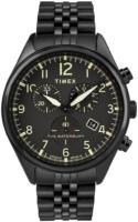Timex 99999 Miesten kello TW2R88600 Musta/Teräs Ø42 mm