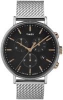 Timex 99999 Miesten kello TW2T11400 Musta/Teräs Ø41 mm