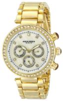 Akribos XXIV Diamond Naisten kello AK681YG Valkoinen/Kullansävytetty