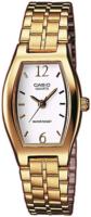 Casio Quartz Naisten kello LTP-1281PG-7AEF Valkoinen/Kullansävytetty