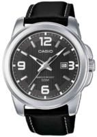 Casio Collection Miesten kello MTP-1314PL-8AVEF Musta/Nahka Ø50 mm