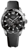 Hugo Boss Chronograph Miesten kello 1512804 Musta/Kumi Ø45 mm